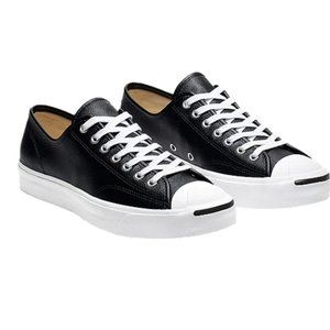 Converse Jack Pursell Shoes Black/White Size 6.5
